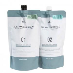 Стайлинг для волос LADOR Aura Volume Magic Healthy - 500мл+500мл