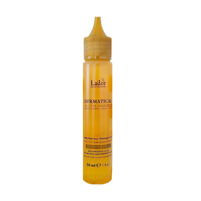 Пептидная ампула от выпадения волос LADOR Dermatical Active Ampoule 30мл