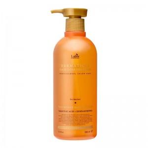 Укрепляющий шампунь для тонких волос LADOR Dermatical Hair-Loss Shampoo For Thin Hair 530 мл