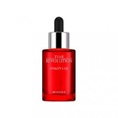 Антивозрастное масло для лица MISSHA Time Revolution Vitality Oil - 30ml
