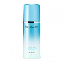 Очищающая кислородная пенка для лица MISSHA Super Aqua Oxygen Micro Visible Deep Cleanser - 120 мл