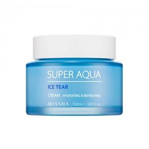 Увлажняющий крем для лица с ледниковой водой MISSHA Super Aqua Ice Tear Cream - 50ml