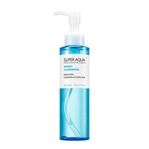 Увлажняющее гидрофильное масло для очищения кожи лица MISSHA Super Aqua Watery Cleansing Oil - 150ml