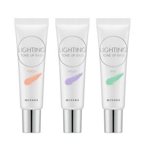 База под макияж тонирующая MISSHA Lighting Tone Up Base SPF30 PA++ - 20 мл.