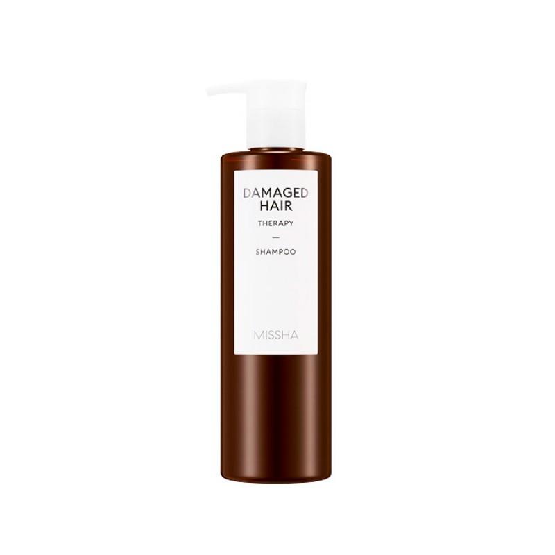 Восстанавливающий шампунь для волос MISSHA Damaged Hair Therapy Shampoo - 400 мл