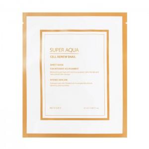 Гидрогелевая маска для лица MISSHA Super Aqua Cell Renew Snail - 28g