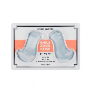 Гидрогелевые патчи для носогубной складки MISSHA Speedy Solution Smile Zone Patch - 1 пара