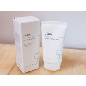 Солнцезащитный гель для лица и тела MISSHA All Around Safe Block Aqua Sun Gel SPF50 PA++++ - 50 мл.