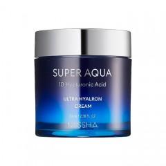 Интенсивно увлажняющий крем для лица MISSHA Super Aqua Ultra Hyalron Cream - 70 мл
