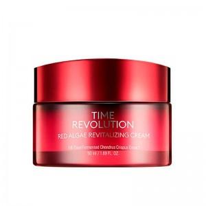Крем c экстрактом красных водорослей MISSHA Time Revolution Red Algae Revitalizing Cream 50 мл