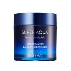 Интенсивно увлажняющий крем-бальзам для лица MISSHA Super Aqua Ultra Hyalron Balm Cream Original - 70 мл