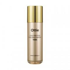 Тонер для упругости кожи OTTIE Gold Prestige Resilience Watery Tonic - 120 мл