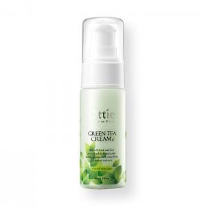Крем для лица с зеленым чаем OTTIE Green Tea Cream - 40ml