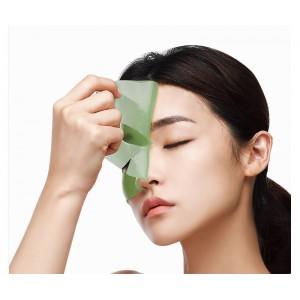 Противоотечная гидрогелевая маска с артишоком PETITFEE Artichoke Soothing Hydrogel Face Mask 32 гр