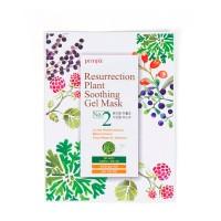 Тканевая маска с розой PETITFEE Resurrection Plant Soothing Gel Mask - 30 мл