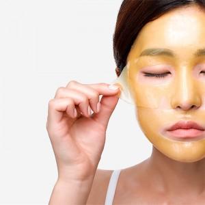Успокаивающая гидрогелевая маска PETITFEE Chamomile Lightening Hydrogel Face Mask - 30 гр