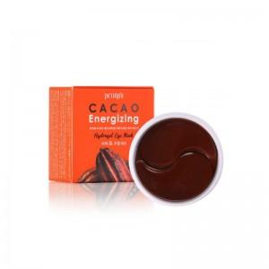 Тонизирующие гидрогелевые патчи с какао PETITFEE Cacao Energizing Hydrogel Eye Patch 30 пар