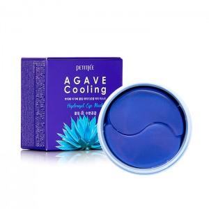 Охлаждающие гидрогелевые патчи для глаз PETITFEE Agave Cooling Hydrogel Eye Mask - 60 шт