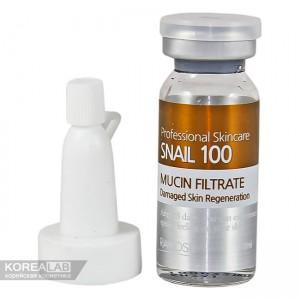 Ампульная сыворотка со 100% фильтратом слизи улитки RAMOSU Snail Mucin Filtrate - 10ml