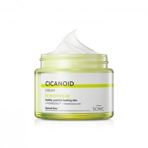 Антивозрастной крем с циканоидом SCINIC Cicanoid Cream - 80 мл