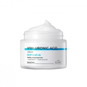 Крем для лица с гиалуроновой кислотой SCINIC Hyaluronic Acid Cream - 80 мл