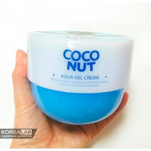 Увлажняющий гель с кокосовым маслом SCINIC Coconut Aqua Gel Cream - 300ml