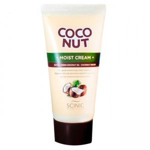 Увлажняющий крем для лица с кокосовым маслом SCINIC Coconut Moist Cream - 50g
