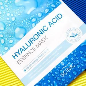 Тканевая маска с гиалуроновой кислотой SCINIC Hyaluronic Acid Essence Mask - 20 гр