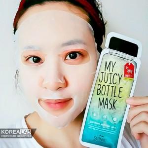 Тканевые маски для лица SCINIC My Juicy Bottle Mask - 20ml