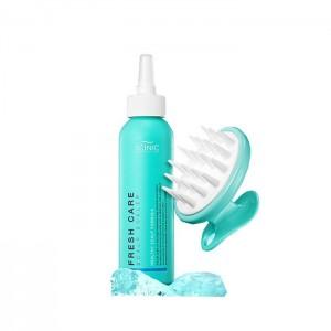 Пилинг с массажером для очищения кожи головы SCINIC Fresh Care Scalp Scaler + Scalp Brush - 200 мл