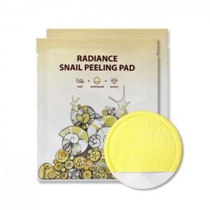 Очищающий пилинг-пад SeaNtree Radiance Snail Peeling Pad 1 шт