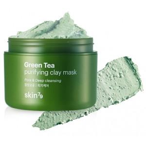 Глиняная маска с зеленым чаем SKIN79 Green Tea Clay Mask - 95ml