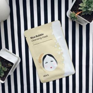 Рисовая пузырьковая тканевая маска SKIN79 Rice Bubble Cleansing Mask - 23 гр.