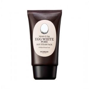 Разогревающая маска для очищения пор SKINFOOD Egg White Pore Hot Steam Pack - 100g