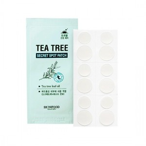 Точечные патчи анти-акне SKINFOOD Tea Tree Secret Spot Patch - 12 шт