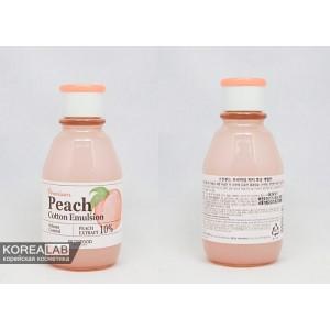 Эмульсия для лица с контролем жирности SKINFOOD Premium Peach Cotton Emulsion - 140ml