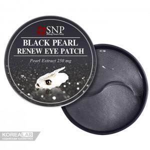 Патчи для глаз с черным жемчугом SNP Black Pearl Renew Eye Patch - 60 шт
