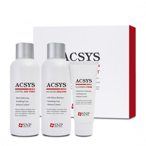 Набор для ухода за проблемной и жирной кожей SNP ACSYS Skin & Lotion Set