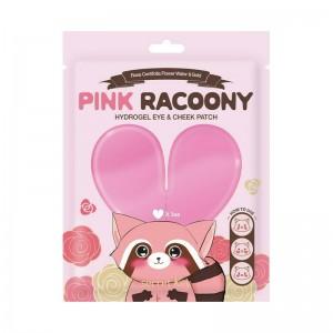 Патчи для глаз и скул SECRET KEY Pink Racoony Hydro-Gel Eye and Cheek Patch 3 шт
