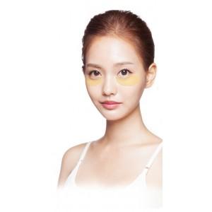 Гидрогелевые лифтинг патчи для глаз SECRET KEY Gold Premium First Eye Patch - 30 пар
