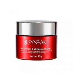 Антивозрастной крем со змеиным пептидом SECRET KEY Syn-Ake Anti Wrinkle and Whitening Cream - 50 мл