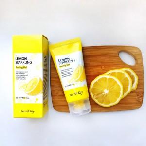 Лимонный пилинг-скатка SECRET KEY Lemon Sparkling Peeling Gel 120 мл