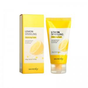 Освежающая пенка для умывания SECRET KEY Lemon Sparkling Cleansing Foam 120 мл