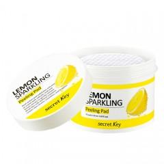 Пилинговые пады для лица SECRET KEY Lemon Sparkling Peeling Pad - 70шт