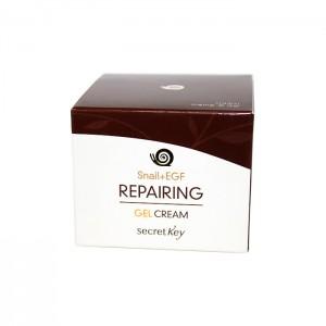Крем-гель для лица с муцином улитки SECRET KEY Snail Repairing Gel Cream - 50гр