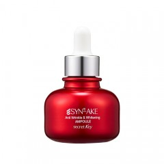 Антивозрастная сыворотка для лица с пептидом SECRET KEY Syn-Ake Anti Wrinkle & Whitening Ampoule - 30 мл