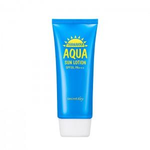 Увлажняющий солнцезащитный лосьон SECRET KEY Thanakha Aqua Sun Lotion SPF35 PA+++ - 100 гр