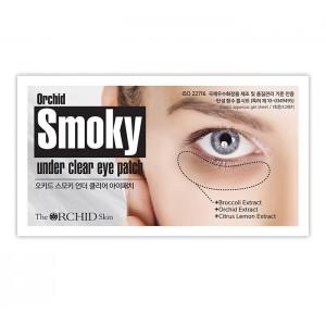 Осветляющие патчи для кожи вокруг глаз THE ORCHID SKIN Smoky Under Clear Eye Patch - 1 пара