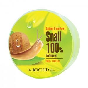 Многофункциональный гель с улиточным муцином THE ORCHID SKIN Snail Soothing Gel - 300ml