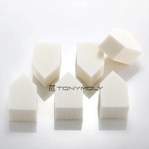 Спонж для макияжа TONY MOLY House Latex Puff - 6 шт.